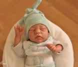 OOAK Newborn Mini Boy By Mina of Sugar Baby Creations