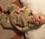 Real born Landon Awake by Vintage Fawn Nursery